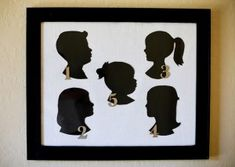 Silhouette picture is easy to make