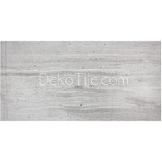 "12"" x 24"" - Athens Silver Cream Limestone – Polished. Potential shower tile."