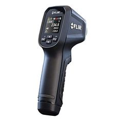 FLIR Spot Infrared Thermometer with Nist Vintage Industrial, Industrial Design, Data Glove, Temperature Measurement, Live Wire, Electrical Tools, Best Resolution, Electronic Recycling, Industrial Decor