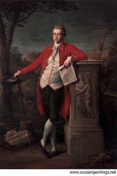 1778 'A Knight in Rome: Charles Cecil Roberts'  POMPEO GIROLAMO BATONI (Lucca, 25 gennaio 1708 – Roma, 4 febbraio 1787)  #TuscanyAgriturismoGiratola
