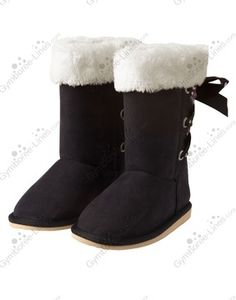 NWT Gymboree Glamour Ballerina Dot Ribbon Faux Suede Boot - Size 13. 3. or 5 - 1 each - $20 each