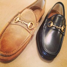 Leather loafer from Gucci Gucci Loafers, Leather Loafers, Gucci Gucci, Gucci Men, Men's Shoes, Shoe Boots, Dress Shoes, Top Sider Shoes, Play Clothing