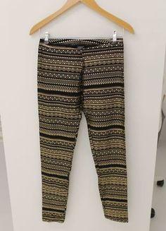 Parachute Pants, Harem Pants, Gold, Fashion, Women's Fashion Leggings, Pattern, Black, Curve Dresses, Moda