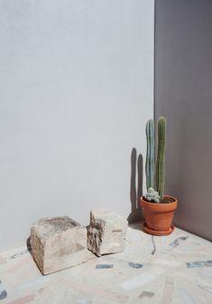 Terrazo Flooring, Timber Flooring, Stone Flooring, Concrete Floors, Painting Tile Floors, Painted Floors, Lisbon Apartment, Terrazzo Tile, Tiles