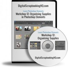Managing Supplies with Photoshop Elements Organizer - $20 class