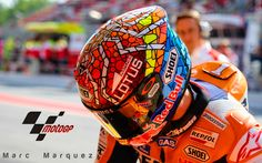 Marc Marquez 2015 Shoei Helmet