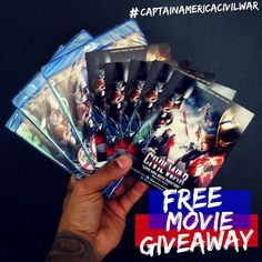 FREE GIVEAWAY: This years biggest blockbuster @marvel's #CaptainAmericaCivilWar is now available on digital HD and Blu-Ray...  Here how to enter: 1: Like this post 2: Hashtag/mention your favorite Avenger  3: Winner will be picked/announced at random on Thursday night (9/22) at 8pm. for all exciting bonus features visit marvel.com  #captainamerica #ironman #theavengers #marvel #freegiveaway