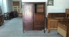 Старинен шкаф - №6997 - от 468 на 234лв.