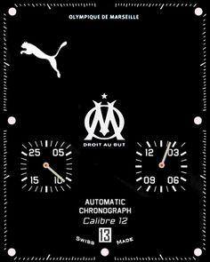 Apple Watch Face - Olympique de marseille face. by ttc