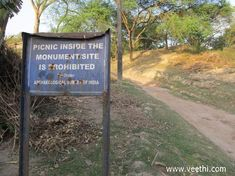 Chandraketugarh Mound - ASI Notice at Barrackpore Cantonment