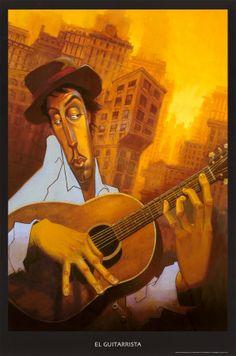 Camino hacia la vida, uno e igual.: Día 35: Personaje 'Maestro guitarrista'