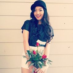 Jenn IM.  Maybe not exactly my style, but she's gorgeous!