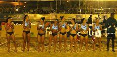 La selección uruguaya de Beach handball en la rama femenina obtuvo una contundente victoria ante su par de EEUU.