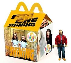 McDonald's Happy Meals for Horror Film Fans  / Shining