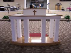 Church Pulpit Furniture | ... .com   Acrylic Church Pulpits, Podiums,