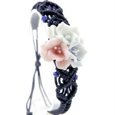 Libaraba Chinese HandMade Retro Sweet Flower Ceramic BraceletAdjustable BraceletGreat Gift For Women -- Check out the image by visiting the link.