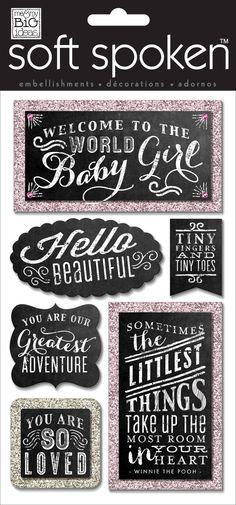 Baby Girl Chalkboard