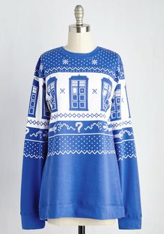 Holly, Jolly Whovians Sweatshirt