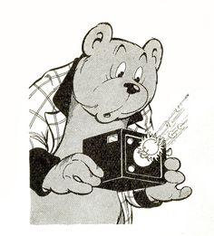 Ollie B. Bommel's fotoboek - De zon mag nooit van voren komen, want dan schijnt zij in het toestel en verdwijnt de foto. Olie, Comic Artist, Tinkerbell, Fairy Tales, Snoopy, Paper Crafts, Posters, Comics, Quotes