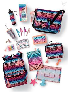 Justice is your one-stop-shop for on-trend styles in tween girls clothing & accessories. Shop our Multi Geometric Messenger Bag. Justice Backpacks, Justice Bags, Shop Justice, Teen Backpacks, Leather Backpacks, School Backpacks, Justice School Supplies, Back To School Supplies, Justice Accessories