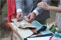 Almofada Alianças! Rings! Brazilian Country Wedding Casamento