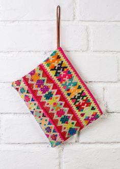BOHO CLUTCH - indie purse , hippie cosmetic bag, ethnic makeup bag, boho purse, hippie clutch bag, ethnic cosmetic bag,tribal makeup bag