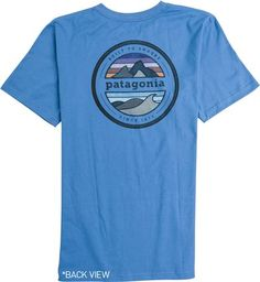 PATAGONIA RIVET LOGO SS TEE > Mens > Clothing > Tees Short Sleeve | Swell.com
