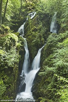 Stockghyll Force, Ambleside, the Lake District, Cumbria