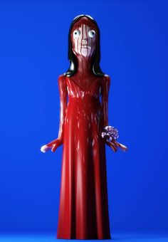 Creative Evil, Vinyl, Halloween, Countdown, and Carrie image ideas & inspiration on Designspiration Carrie, Toy Art, Cultura Pop, Madame Alexander, Art Jouet, Creepy Toys, Creepy Halloween Decorations, Halloween Countdown, Character Modeling