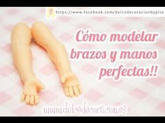 Cómo modelar brazos y manos perfectas! - YouTube Polymer Clay Recipe, Polymer Clay Dolls, Polymer Clay Projects, Gymnastics Party, Clay Baby, Fondant Figures, Doll Tutorial, Pasta Flexible, Clay Tutorials