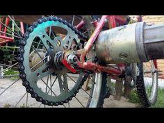 Electric Bike From Scrap - Simple E-Bike 1000w - Homemade - YouTube