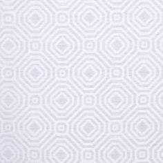 Silver Geometric Poly Fabric by the Yard | Mood Fabrics