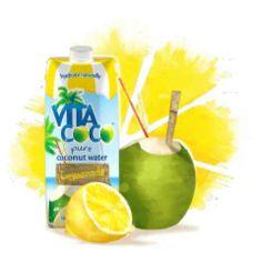 Free Vita Coco Pure Coconut Water with Lemonade