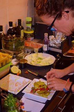 'cause the devil lies in the details: gluten free pesto lasagna!!! Gnammi!!! the presentation is key for a full pleasure!