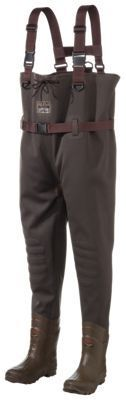 RedHead Bone-Dry Hobbs Creek Chest Waders for Ladies and Youth - Brown - 8/6