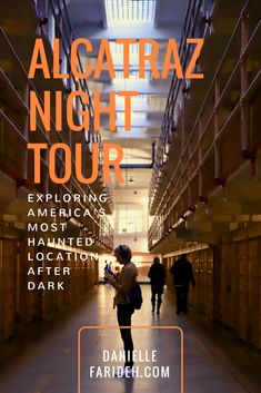 Located on the coast of San Francisco, Alcatraz housed some of the most dangerous criminals in US history. Tours of the maximum security prison are one of the most in-demand attractions in San Francisco. Here is my personal experience on an Alcatraz night tour, and what you should know before you plan your own trip! #travelblog #sanfrancisco #alcatraz #nationalparks