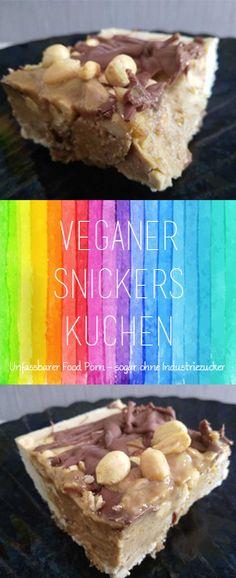 Veganer Snickers Käsekuchen (ohne backen & ohne Industriezucker!) #foodporn - DieCheckerin.de - alternativer Lifestyle Blog #nobake #vegan #kuchen #veganerkuchen