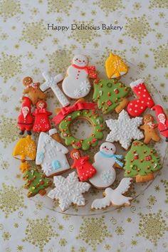 クリスマスに♡可愛いアイシングクッキーのデザインまとめ♡ - curet [キュレット] まとめ