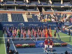Jamie Murray and Bruno Soares.Men's Doubles Champions. 2016 US Open.
