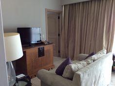 Living room in Caribbean Oceanfront Suite