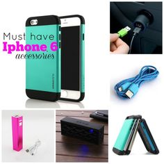 Must Have Iphone 6 Accessories! Also compare iPhone sizes with my comparison photo!