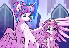 Baby Sister~ by Lopoddity on DeviantArt My Little Pony Comic, My Little Pony Drawing, My Little Pony Pictures, Mlp My Little Pony, My Little Pony Friendship, Twilight Sparkle, Flurry Heart, Little Poni, Imagenes My Little Pony