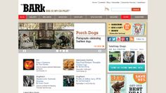 """The Bark - An online and print magazine for the dog world. Interestingly, they own the trademark for the phrase """"Dog is my co-pilot."""""""