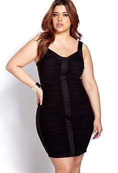 Plus Size Bold Moves Bodycon Dress $22.80