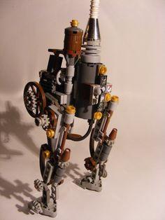 Steampunk Walker: A LEGO® creation by Cpt Mugwash : MOCpages.com