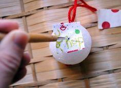 Make A No-Glue, No Sew Ornament From Scraps    Zakka Life