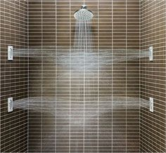Multiple Showerheads And Body Sprays Are A Must Have In Todayu0027s Luxury  Bathroom.