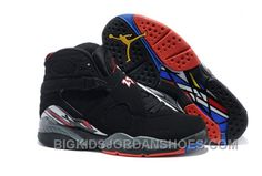 quality design 88a03 a9a5b Nike Air Jordan 8 VIII Homme Noir Rouge. New Jordans ShoesAir ...