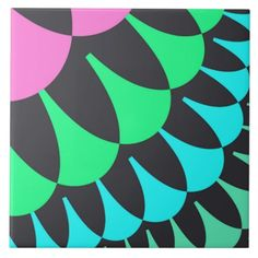 Customizable Pink/Green Lotus Pond Scale Pattern Large Tile on sale at www.zazzle.com/wonderart* Click on the picture to take you directly to the product for purchase and info.