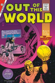 Out of This World No. 14 by Dick Giordano, Jul 1959, Charlton Comics